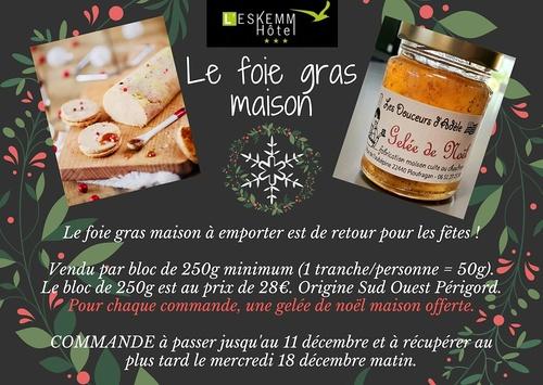Fois gras maison à emporter - L''Eskemm à Trégueux (22)